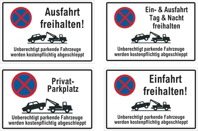 parkverbot parken verboten privatgrundst ck einfahrt. Black Bedroom Furniture Sets. Home Design Ideas